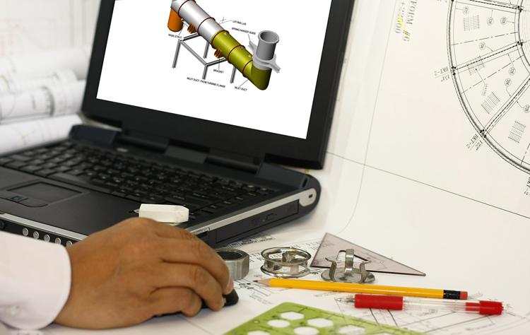 Description du metier de Dessinateur industriel